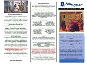 Informativo Semanal Julio 06-12